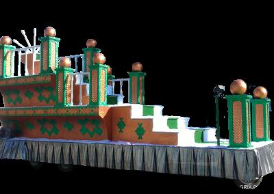 02 Escalinata Verde