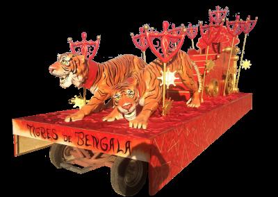 18 Tigres de Bengala
