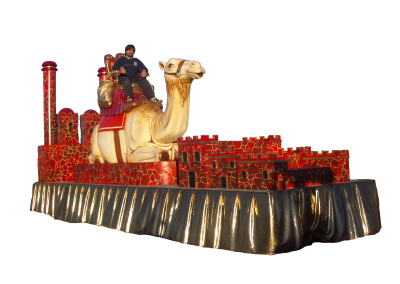 27 Camello Rojo